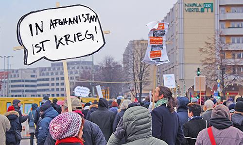 Demostration gegen Abschiebungen nach Afghanistan (Berlin, 2017)
